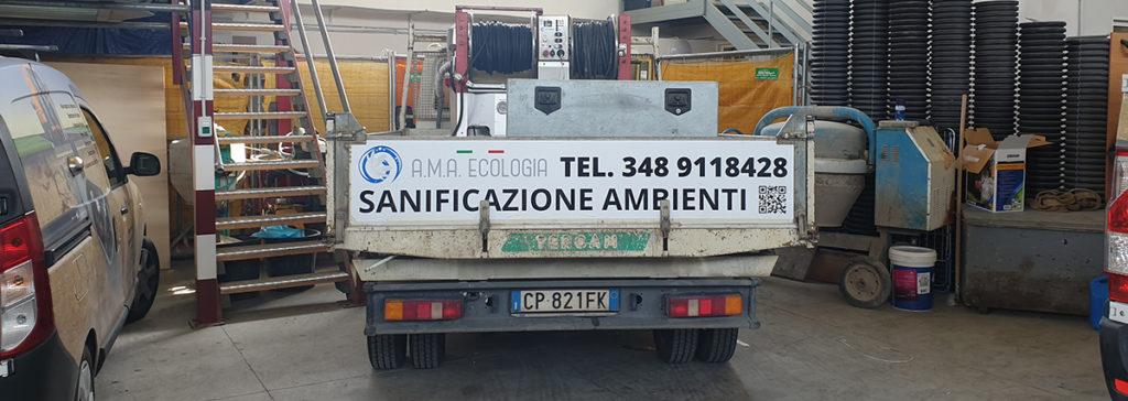 sanificazione di ambienti